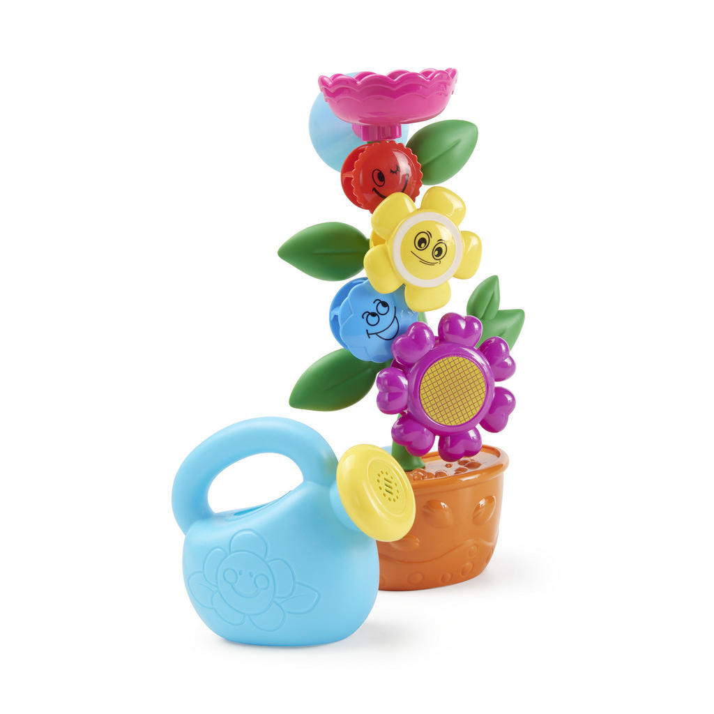 Image of My Baby Lou Badespielzeug , Flower Inkl. Gieskanne , Multicolor , Kunststoff , glänzend , farbecht,farbecht,farbecht , 004957001401