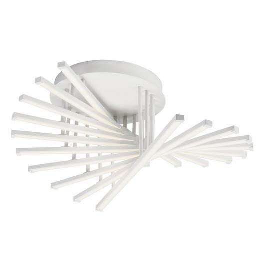 LED-DECKENLEUCHTE - Weiß, LIFESTYLE, Kunststoff/Metall (62/25,5cm) - AEG