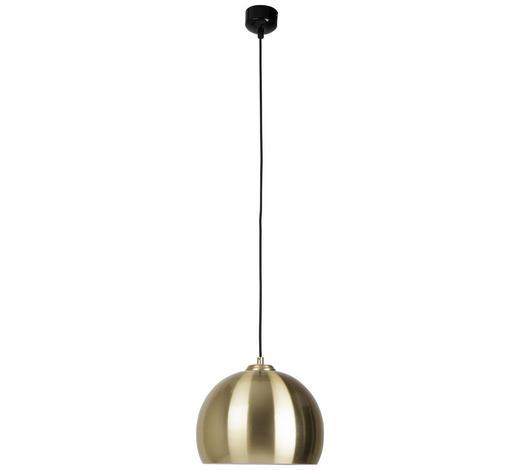HÄNGELEUCHTE - Messingfarben/Bronzefarben, Design, Metall (27/27/21cm)