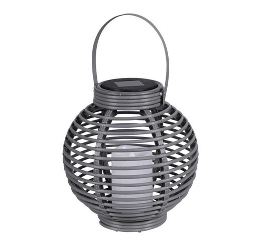 SOLARLEUCHTE - Taupe, Design, Kunststoff (22cm) - Boxxx