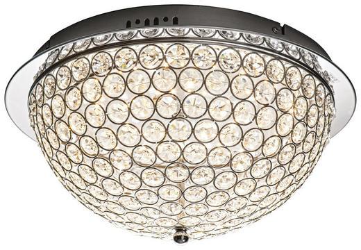 LED-DECKENLEUCHTE - Chromfarben, LIFESTYLE, Metall (40/20cm) - Glandor
