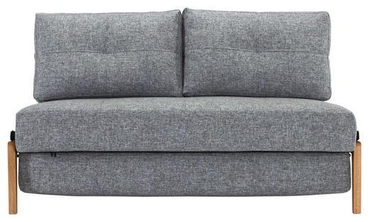 SCHLAFSOFA in Holz, Metall, Textil Grau - Sandfarben/Eichefarben, MODERN, Holz/Textil (147/67/96cm) - Innovation