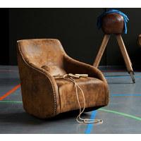 SCHAUKELSTUHL - Braun, Design, Textil (76/83/74cm)