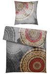 BETTWÄSCHE Satin Graphitfarben 155/220 cm - Graphitfarben, Design, Textil (155/220cm) - Esposa