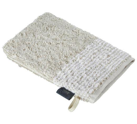 WASCHHANDSCHUH - Sandfarben, KONVENTIONELL, Textil (16/22cm) - Cawoe