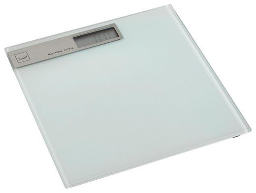 PERSONENWAAGE - Weiß, Basics, Glas (30/2cm) - Kela