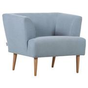 KŘESLO - mátově zelená/přírodní barvy, Design, dřevo/textil (85/71/80cm) - CARRYHOME
