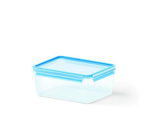 FRISCHHALTEDOSE 3,70 l  - Blau/Transparent, Basics, Kunststoff (26.5/19.5/11cm) - Emsa