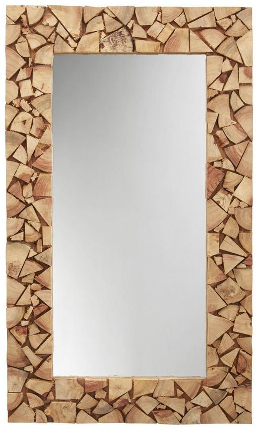 SPIEGEL Akazie Akaziefarben - Akaziefarben, Trend, Glas/Holz (120/70/4cm) - Landscape