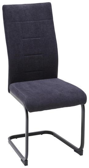 SVIKTSTOL - svart/antracit, Design, metall/textil (43/99/62cm) - Carryhome