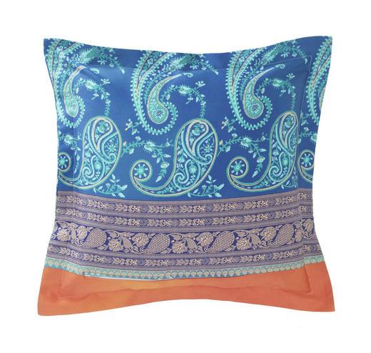 KISSENHÜLLE Blau - Blau, LIFESTYLE, Textil (40/40cm) - Bassetti