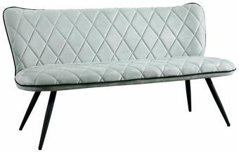 KLUPA - svijetlo zelena/siva, Design, metal/tekstil (166/85/66cm) - Hom`in