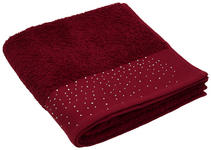 HANDTUCH 50/100 cm  - Bordeaux, Basics, Textil (50/100cm) - Esposa
