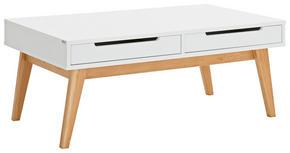 SOFFBORD - vit/ekfärgad, Design, trä/träbaserade material (110/65/46cm) - Hom`in
