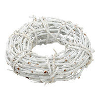 VENEC 43621 - bela, leseni material (30/11/30cm)