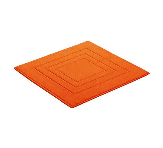 BADEMATTE in Orange 60/60 cm  - Orange, Basics, Textil (60/60cm) - Vossen