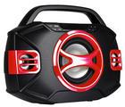 DJ-BOOMBOX 44 BT - Rot/Schwarz, Kunststoff