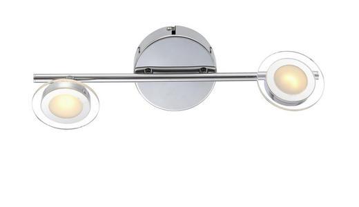 LED-STRAHLER - Design, Kunststoff/Metall (36,5/10/9cm)