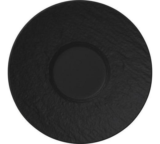 UNTERTASSE - Schwarz, Design, Keramik (12/12/2cm) - Villeroy & Boch