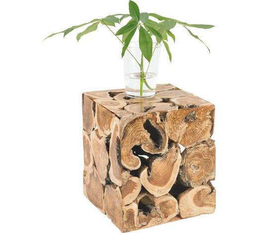STOJAN NA KVĚTINY, teakové dřevo, přírodní barvy - přírodní barvy, Lifestyle, dřevo (40/50/40cm) - Landscape