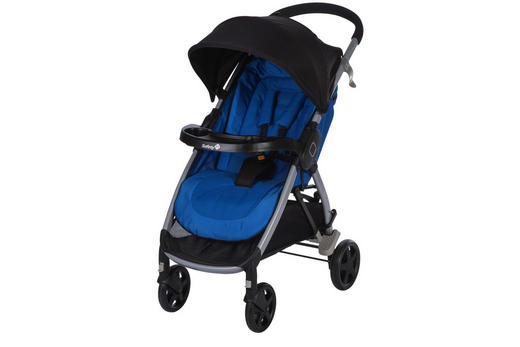 BUGGY  Step & Go  Blau, Schwarz - Blau/Silberfarben, Basics, Textil/Metall (59/106/94cm) - Safety 1st