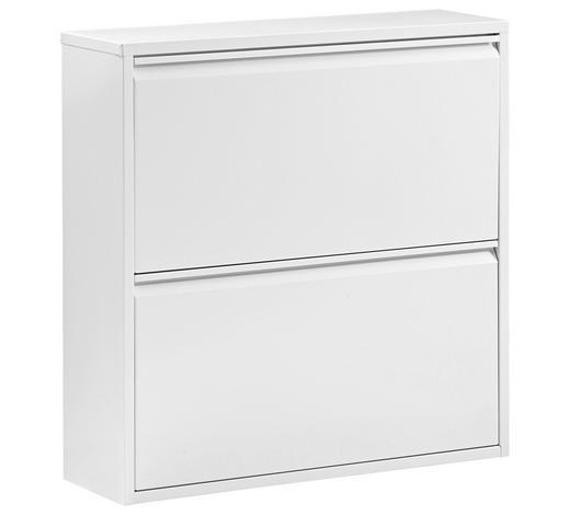 SCHUHKIPPER Weiß  - Weiß, Design, Metall (76/77/23cm) - Carryhome