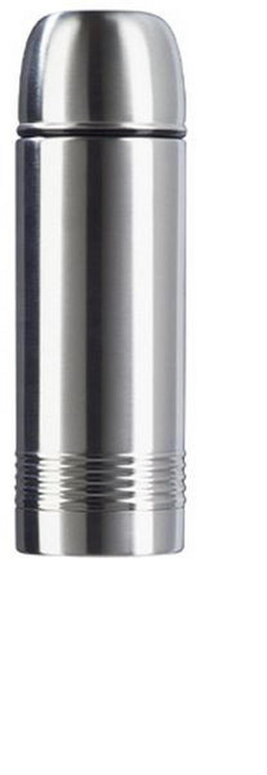 ISOLIERFLASCHE 0,5 L - Edelstahlfarben, Basics, Metall (0.5l) - Emsa