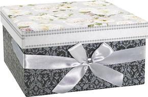 PRESENTBOX - multicolor, Trend, papper (23/23/12cm) - Boxxx