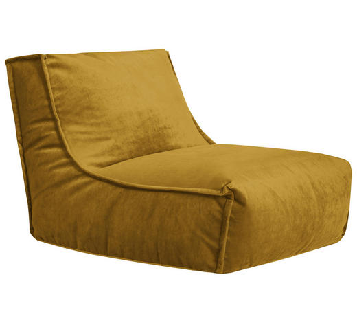 SITZSACK in Textil Currygelb - Currygelb, Trend, Textil (110/80/70cm) - Ambia Home