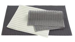 BADTEPPICH in Anthrazit, Beige, Taupe 50/80 cm - Taupe/Anthrazit, Basics, Textil (50/80cm) - Esposa