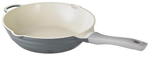 BRATPFANNE 28 cm Keramikbeschichtung - Grau, Basics, Metall (28cm) - Schulte Ufer