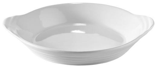 AUFLAUFFORM Keramik Porzellan - Weiß, Basics, Keramik (21cm) - Homeware