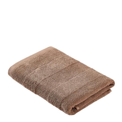 DUSCHTUCH 70/140 cm - Taupe, Basics, Textil (70/140cm) - Linea Natura