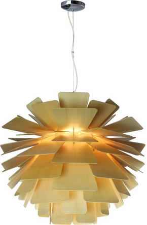 TAKLAMPA - naturfärgad, Lifestyle, trä (74/64cm) - Marama
