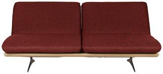 SCHLAFSOFA in Holz, Textil Rostfarben - Rostfarben/Schwarz, Design, Holz/Textil (204/92/90cm) - Dieter Knoll