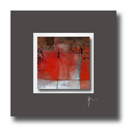Abstraktes BILD - Multicolor, Design (50/50cm) - Wiedemann