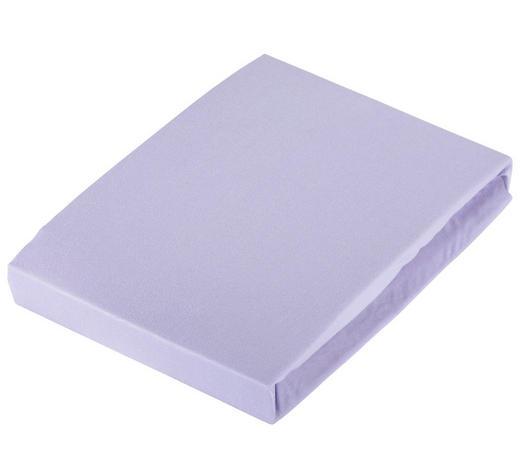 SPANNLEINTUCH 100/200 cm  - Violett, Basics, Textil (100/200cm) - Novel