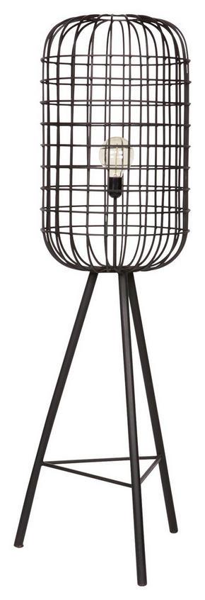 GOLVLAMPA - svart, Design, metall (41/144/49cm) - Ambia Home