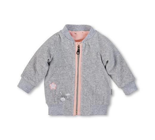 JACKE - Silberfarben/Rosa, Basics, Textil (56null) - Sterntaler