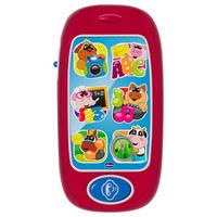 Kindersmartphone - Rot/Multicolor, Basics, Kunststoff (20,4/4,6/14,1cm) - Chicco