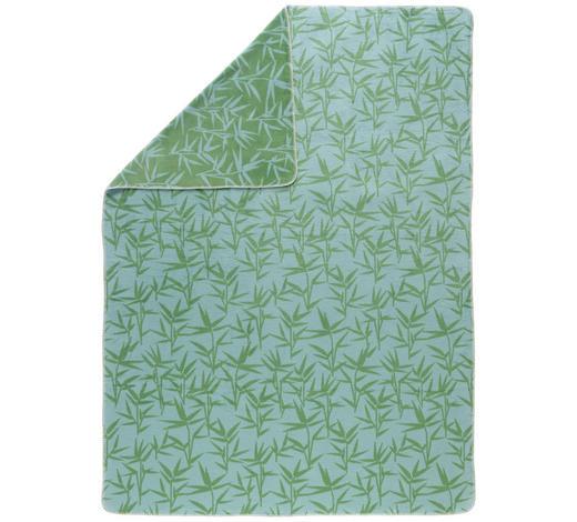 KUSCHELDECKE 150/200 cm - Grün, LIFESTYLE, Textil (150/200cm) - David Fussenegger