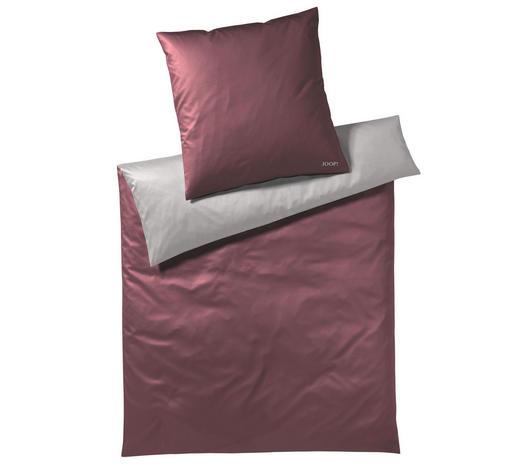 Bettwasche Makosatin Grau Rot 155 220 Cm Online Kaufen Xxxlutz