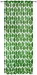 FERTIGVORHANG halbtransparent - Grün, KONVENTIONELL, Textil (135/245cm) - Esposa