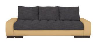 SCHLAFSOFA in Textil Blau, Naturfarben  - Wengefarben/Blau, Design, Holz/Textil (243/90/100cm) - Carryhome