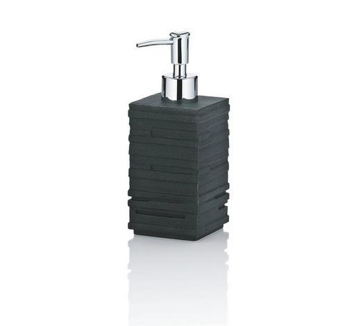 SEIFENSPENDER - Schwarz, Basics, Kunststoff (7/7/18cm) - Kela