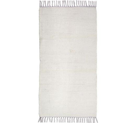 FLECKERLTEPPICH 60/120 cm - Weiß, KONVENTIONELL, Textil (60/120cm) - Boxxx