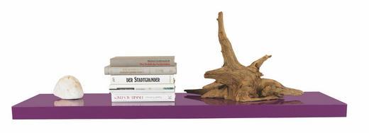 WANDBOARD Holz Lila - Lila, Design, Holz (100/4.4/24cm) - Carryhome
