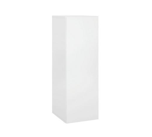 ZÁVĚSNÁ SKŘÍŇKA, bílá - bílá, Design, kompozitní dřevo (90/30/34cm)