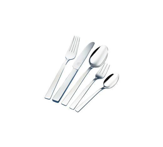BESTECKSET  30-teilig  Edelstahl   - Silberfarben, Basics, Metall - Zwilling
