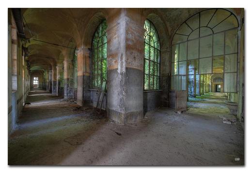 Architektur BILD ONLY THE LONELY LOVE - Multicolor, Basics, Holzwerkstoff/Kunststoff (300/200cm) - Wiedemann